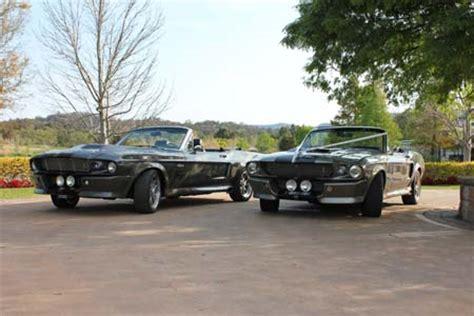 shelby gt 500 eleanor sydney mustangs wedding hire cars