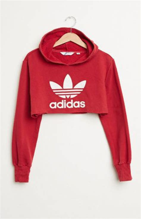 7ldress Adidas adidas hoodie crop top medium