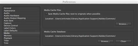 adobe premiere pro media cache files mediastorm guide to the adobe premiere pro media cache