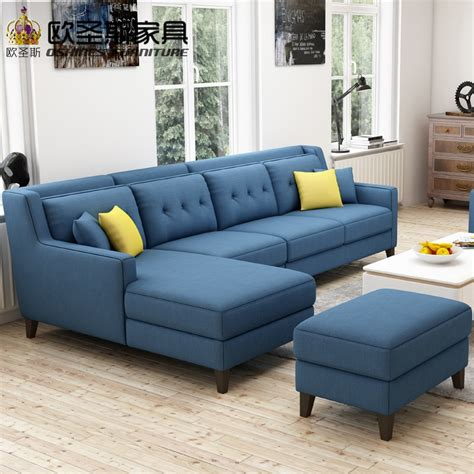 Design Of L Shaped Sofa by New Arrival American Style Simple Design Sectional