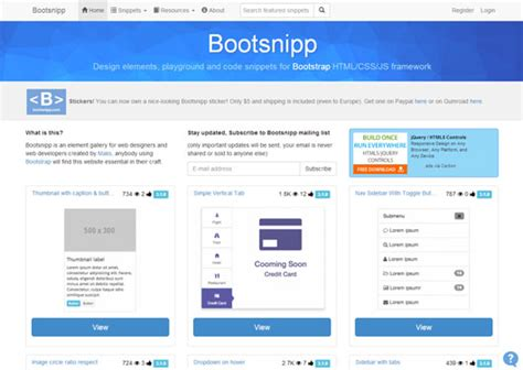 alternatives to layoutit 25 download free bootstrap tools and generators smashing