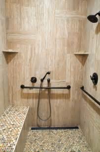 Wheelchair Accessible Bathroom Design Handicap Accessible Shower
