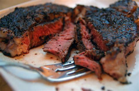 coffee rubbed steaks recipe dishmaps