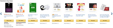 Amazon Gift Card Discounts - amazon valentine s day gift card discounts