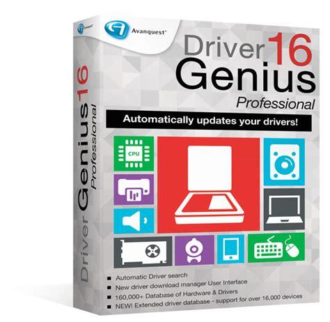 genius driver driver genius 16 professional avanquest