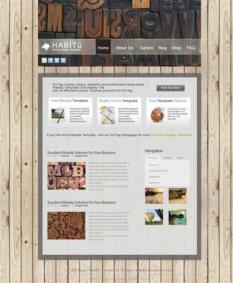 new themes weebly weebly themes weebly templates habitu theme divtag