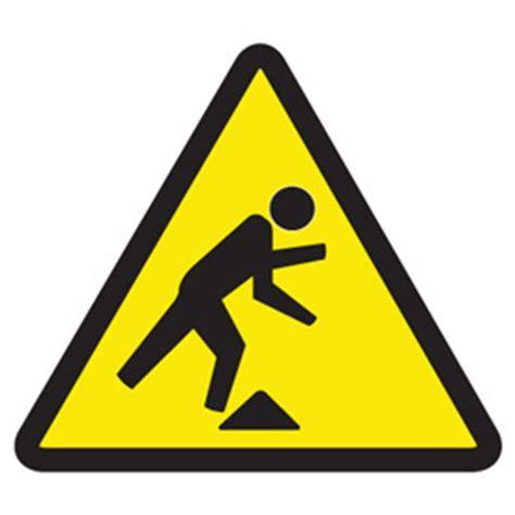 Wall Cabinets Canada Warning Symbol Labels Tripping Hazard Seton Canada