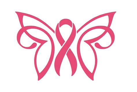 cancer awareness ribbon decal breast cancer awareness ribbon