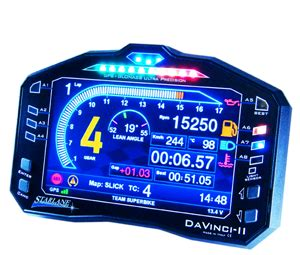 strumentazione digitale  moto kart  auto starlane