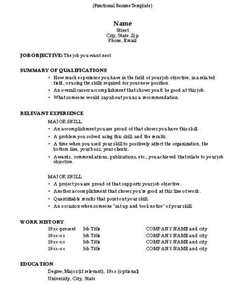 How To Do A Resume Exles by How To Do A Resume Resume Cv