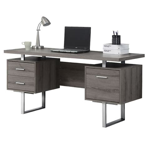 Modern Desks Harley Gray Washed Desk Eurway Modern Desk For