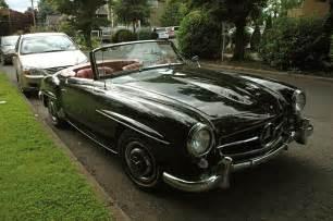 1960 Mercedes 190sl Parked Cars 1960 Mercedes 190sl
