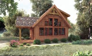 small timber frame cabin kits