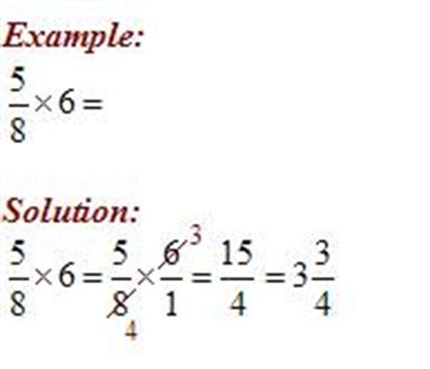 Multiplying Fractions And Whole Numbers Worksheets With Answers by Multiply Fractions And Whole Numbers Worksheets