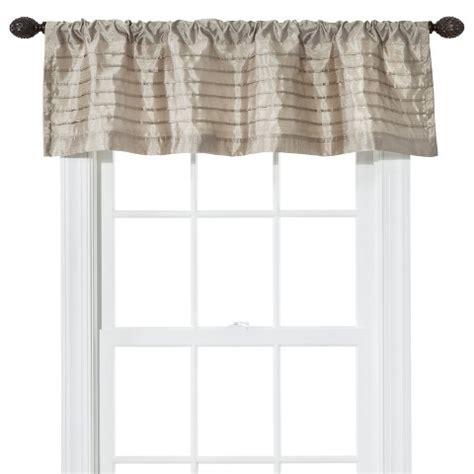 Faux Silk Valance home target faux silk window valance 54 quot x15 quot ebay