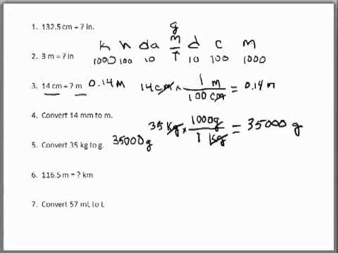 3 3 Conversion Problems Worksheet Answers by Worksheets Dimensional Analysis Problems Worksheet