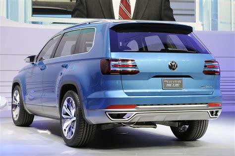 Volkswagen CrossBlue previews a three row future, diesel