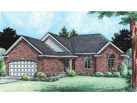 brick ranch house plans berryton brick ranch home plan 026d 1764 house plans and more