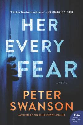 her every fear her every fear a novel by peter swanson paperback barnes noble 174