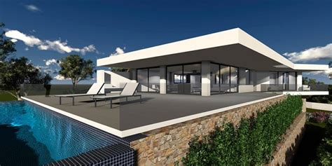 brand new designer villas built to order costa blanca spain modern new build luxury villa moraira pla del mar costa blanca
