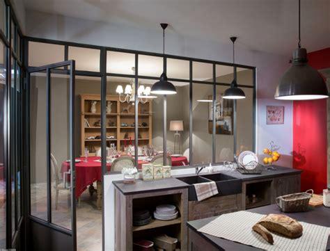 verriere atelier cuisine d 233 co cuisine avec verriere