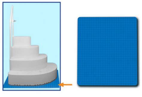 3 x4 swimming pool step ladder mat or step pad liner