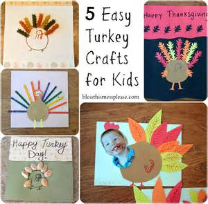 thanksgiving preschool craft ideas 5 easy turkey crafts for kids bless this mess