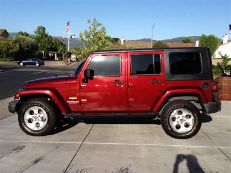 Napa Jeep Sell Used Jeep Wrangler Unlimited In Napa