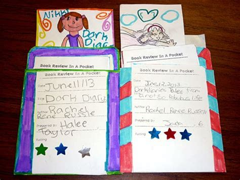 dork diaries book report pint sized book reviews bookmaking with