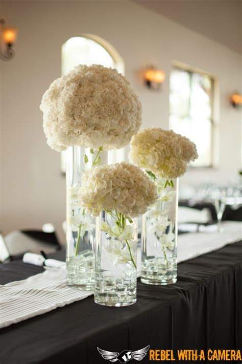 wedding centerpieces with hydrangeas stunning white hydrangea centerpieces wedding florals pedestal and jars