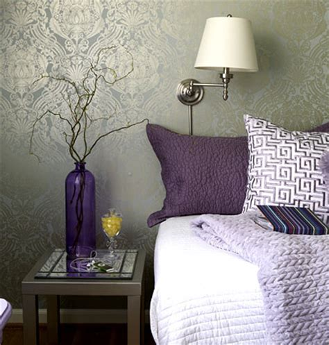 wallpaper for focal wall accent headboard wall lindsay miller interior design
