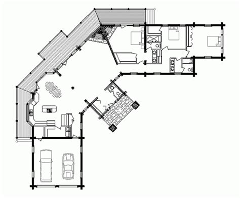 Log Cabin Mobile Home Floor Plans artistic luxury log home floor plans and designs with two