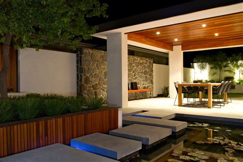 planter box design Spaces Asian with bench seating indoor
