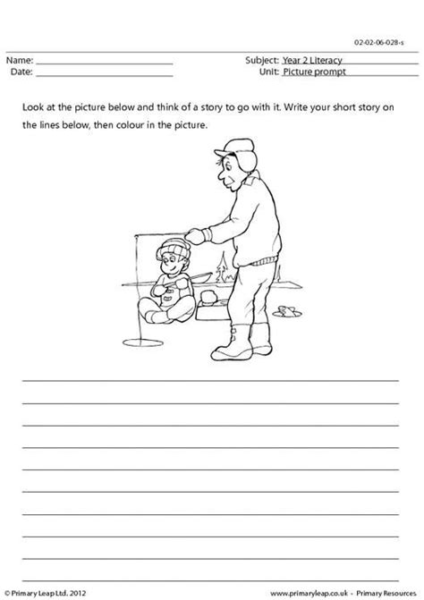 story writing worksheets year 2 year 2 creative writing picture prompts are