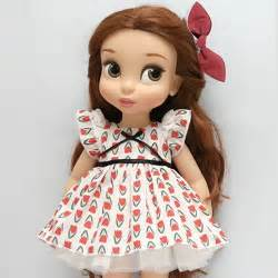 disney baby doll clothes dress clothing red flower