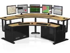 banana table pacs workstation radiology furniture command center furniture 911 furniture