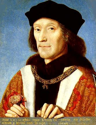 tudor king henry vii king of