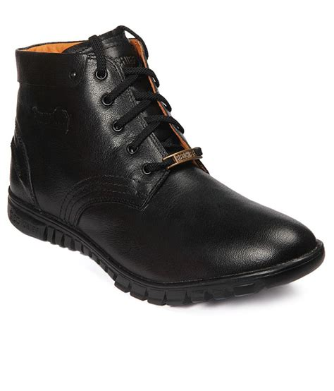 Craftsman Home by Red Chief Black Casual Shoes Buy Red Chief Black Casual