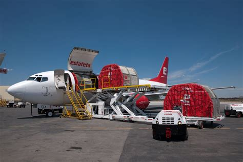 estafeta offers air cargo express freight services to and from mexico it s called logistics
