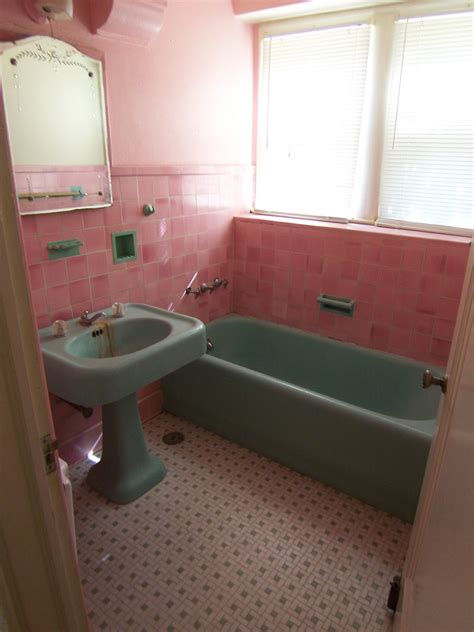 vintage pink bathroom 40 vintage pink bathroom tile ideas and pictures