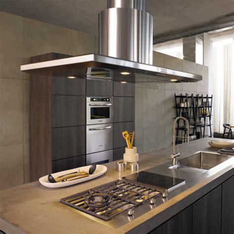 hotte de cuisine ilot central hotte 238 lot pratique et convivial pour une cuisine moderne