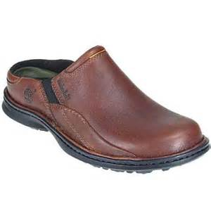 mens leather clogs timberland 67525 s mount burbank clog tumbled grain