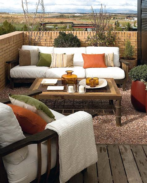 patio decorating ideas stylish balcony decor ideas