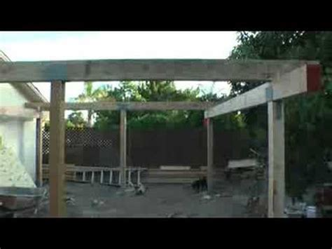 Zero Lot Line House Plans back yard patio cover video 2 youtube