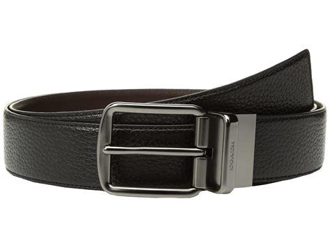 Coach Belt coach wide reversible belt at zappos