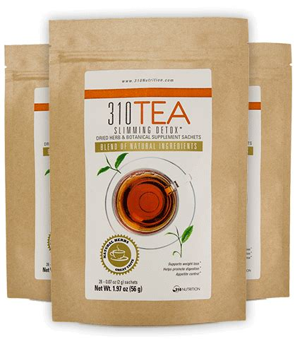 50 310 Detox Tea by 310 Nutrition Best Diet Shakes Weight Loss Meal