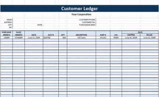 Business Ledger Template by Ledger Template Microsoft Word Templates
