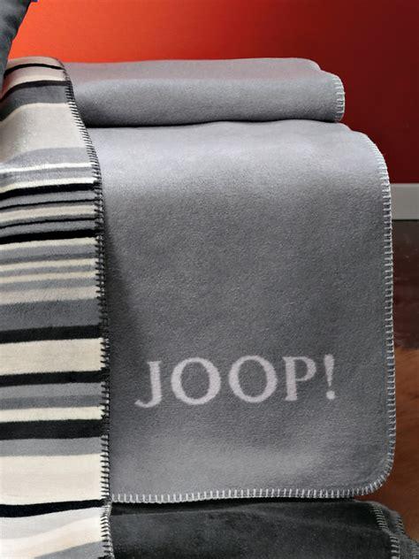 Joop!   Wende Decke, ca. 150x200cm   Silber/Steingrau
