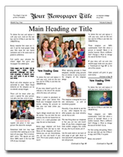 newspaper layout cost newspaper layout template