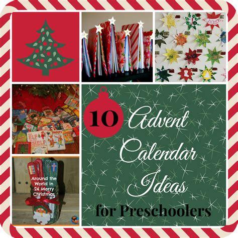 mama pea pod 10 christmas advent calendar ideas for preschoolers